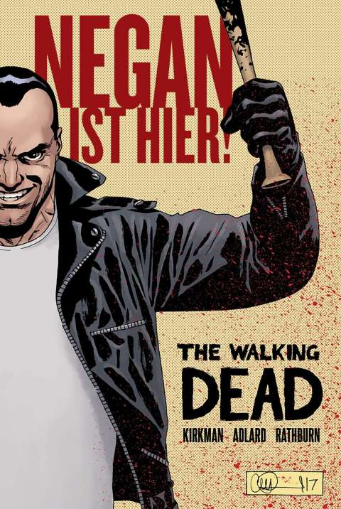 Negan Cover Klein