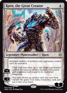 Karn the Great Creator