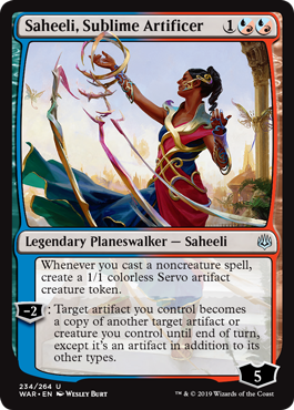 Saheeli Sublime Artificer