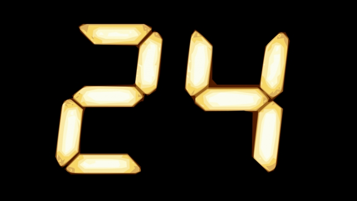 24: Im Mittelpunkt der Zeit