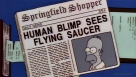 "22. Schocktober: ""The Springfield Files"" - The Simpsons (1997)"