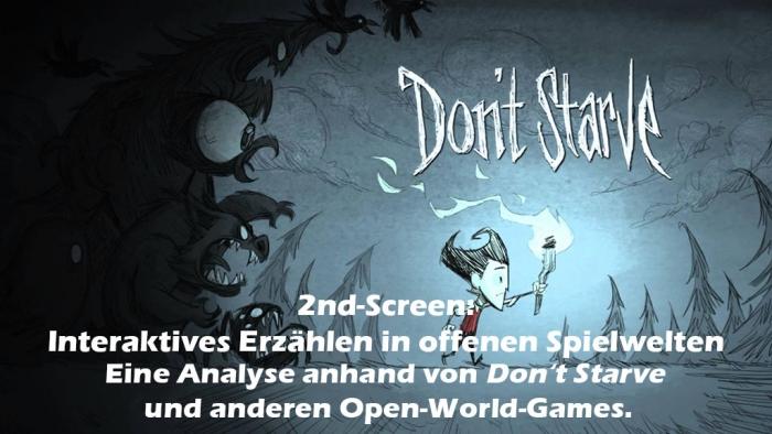 2nd-Screen zum Artikel: Interaktives Erzählen in offenen Spielwelten