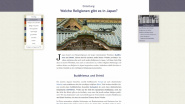 """Religion-in-Japan: Ein Web-Handbuch"""