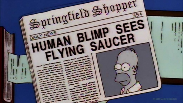 "22. Schocktober: ""The Springfield Files"" - The Simpsons (1997)"